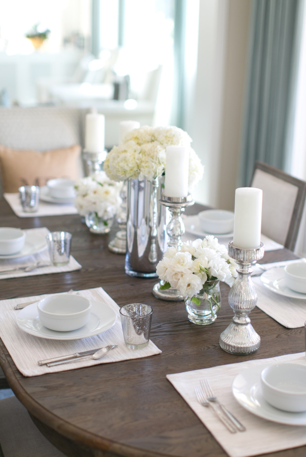 Simple + Classy Dinner Party Tablescape | The Everyday Hostess