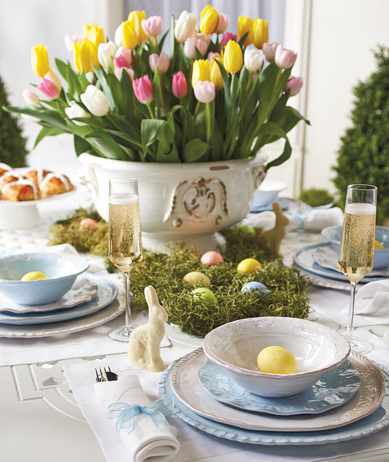 Easter Tablescapes The Everyday Hostess