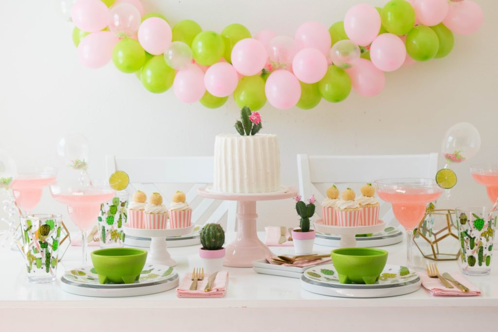Summer Party Trends: Cactus Decor